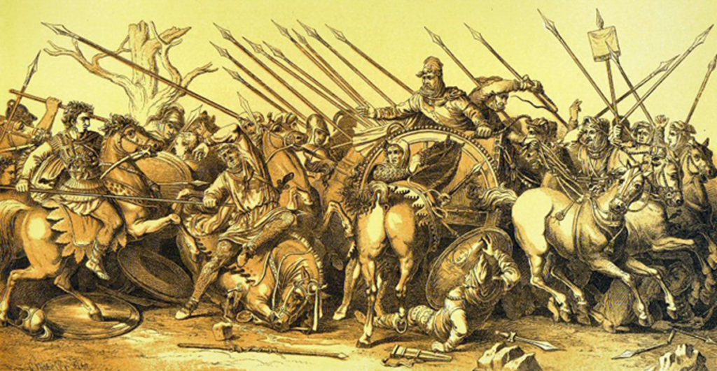 Cuộc chiến giữa Alexander và Darius