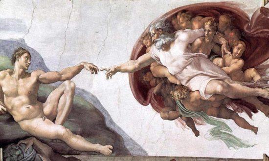 """""""Chúa tạo ra Adam"""" và Vương quốc bên trong chúng ta"""