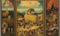 Bức tranh 'Xe thồ cỏ' của Hieronymus Bosch và những dục vọng của loài người