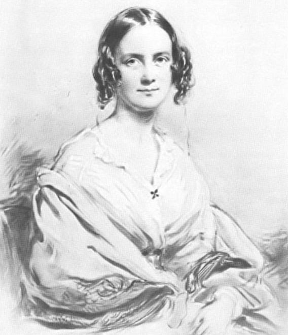Hình: Vợ của Darwin, Emma