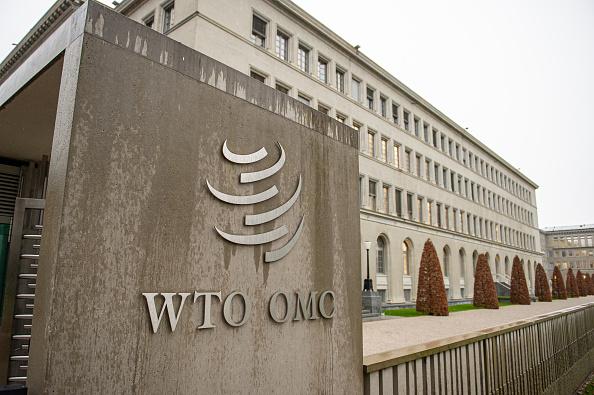 Hình ảnh của trụ sở của Tổ chức Thương mại Thế giới (WTO) được chụp vào ngày 11 tháng 12 năm 2019 tại Geneva, Thụy Sĩ. (Ảnh của Robert Hradil/Getty Images)