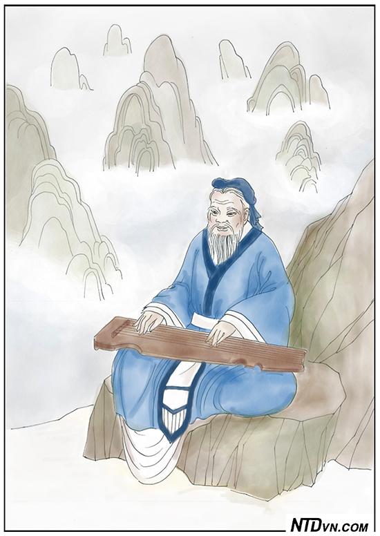 Khổng Tử học đánh đàn cầm, không dạy mà giỏi, khổng tử học đánh đàn cầm, minh đạo gia huấn, dạy con sáng đạo