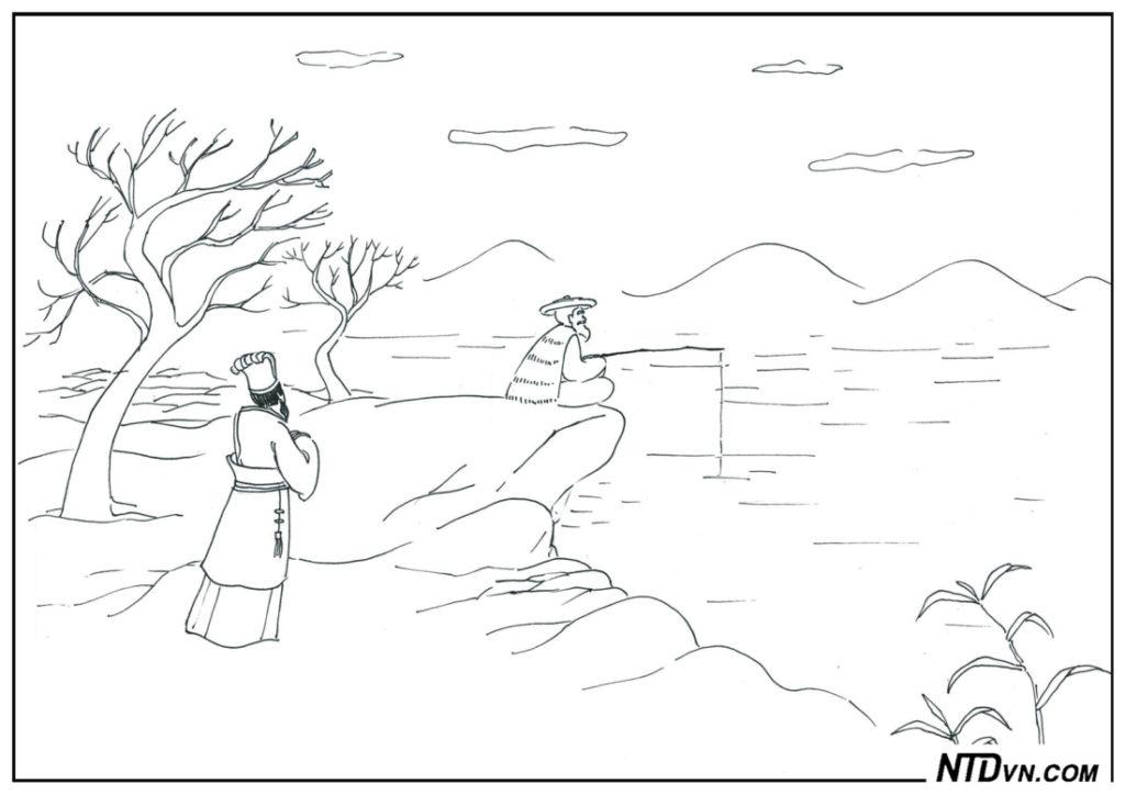 """Người có ba tình, dạy con sáng đạo, minh đạo gia huấn, Chu Văn Vương dặn con: """"Phải đối với thầy như đối với phụ vương"""""""
