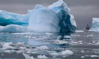 Băng ở Nam Cực đang tan rất nhanh, theo hình ảnh vệ tinh của NASA