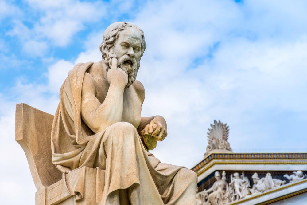 Triết gia Socrates đã tự mình trải qua ôn dịch, nhưng ông đã thành công chống lại sự tấn công của bệnh dịch bằng một cuộc sống được tiết chế và những thói quen lành mạnh.