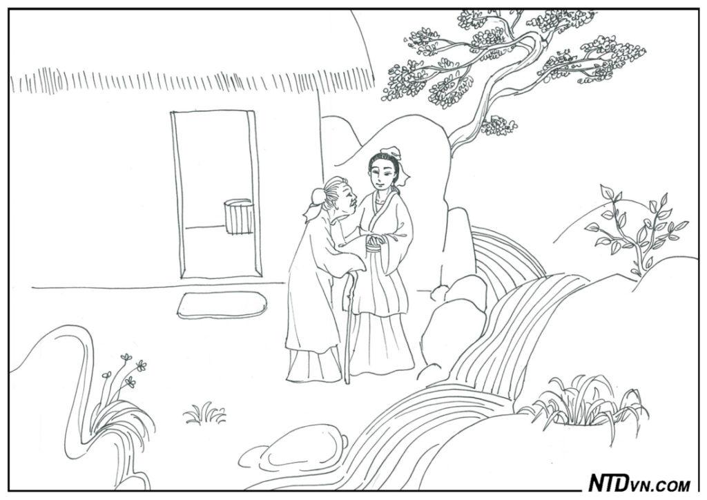 Con dâu bị oan không oán, lòng hiếu cảm động quan quân, tích thóc phòng đói, dạy con sáng đạo, minh đạo gia huấn