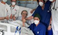 Nước Ý: Nữ bệnh nhân 95 tuổi phục hồi sau khi nhiễm virus Corona
