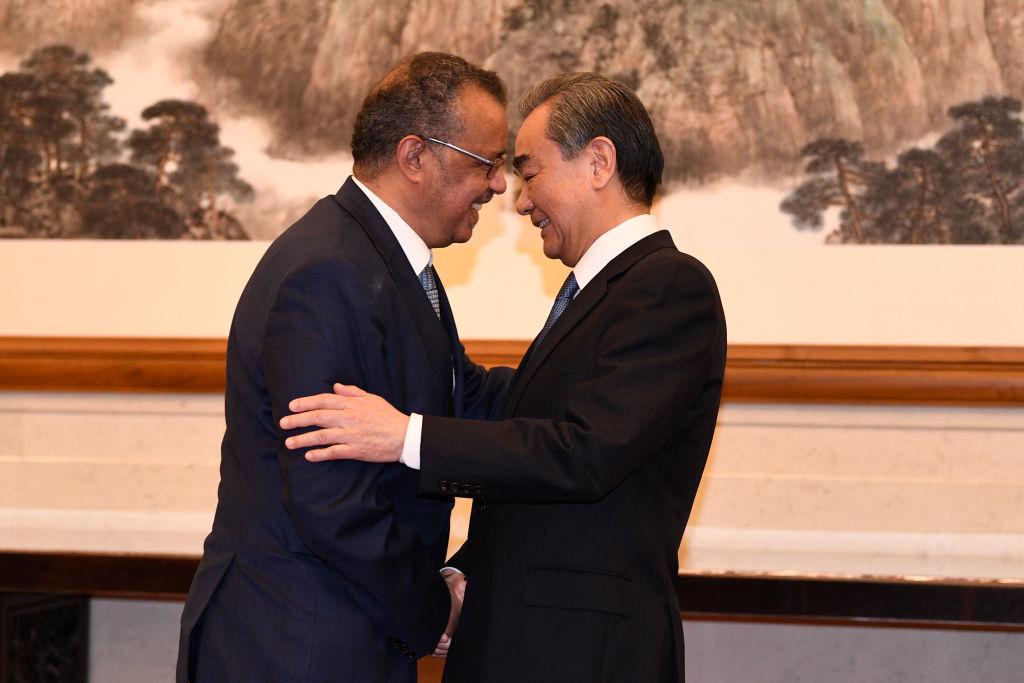 Who và Trung Quốc