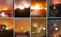 Cuồng phong giật cấp 9 thổi bay người, hỏa hoạn gây cháy nhiều nhà và xe, đã đột nhiên xảy ra tại Bắc Kinh, Thiên Tân và Hà Bắc, Trung Quốc