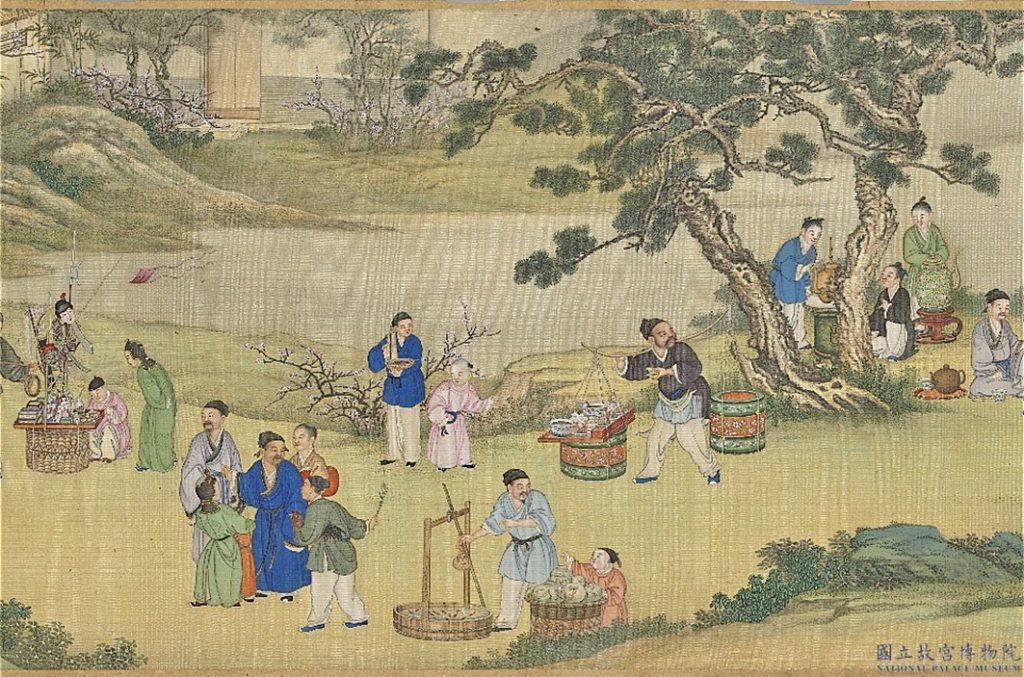 Trong làng có người bán hàng rong, khi còn sống đã nợ cụ tổ của Kỷ Hiểu Lam rất nhiều tiền. Ông ta không những không trả mà còn nói rất nhiều lời trái với lương tâm.