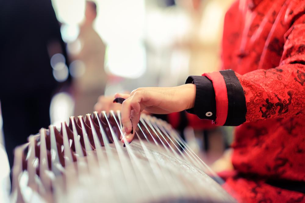 người Trung Hoa cổ xưa đã biết rằng âm nhạc có khả năng trị bệnh.
