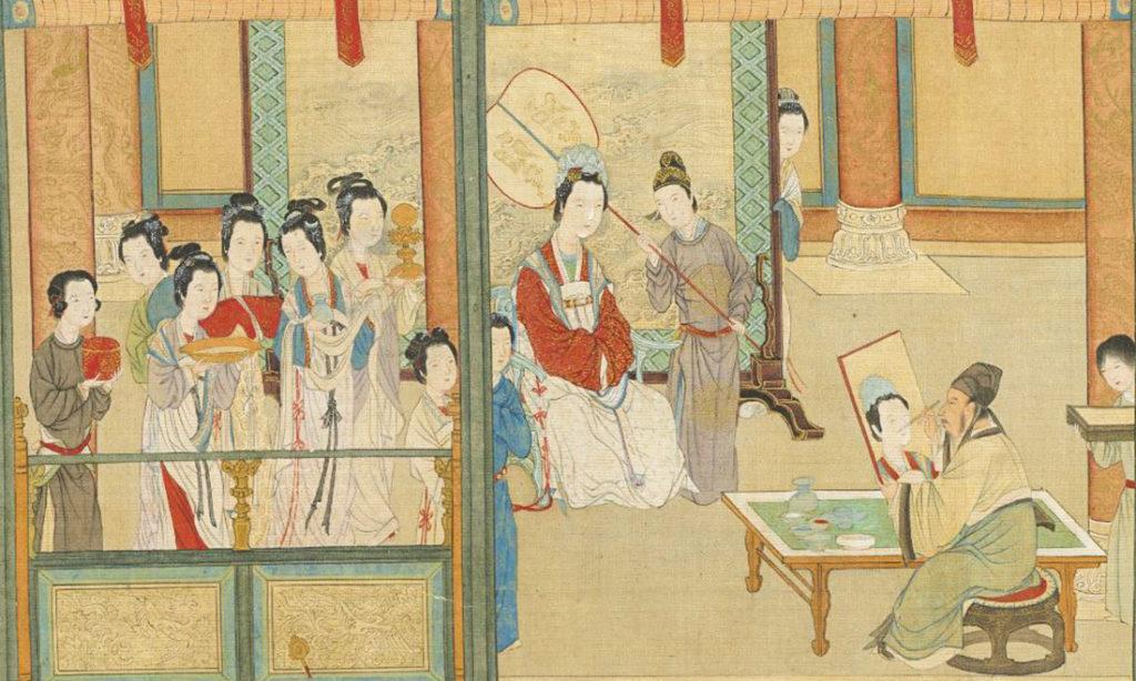 Bức tranh 'Hán cung xuân hiểu' tái hiện cuộc sống phi tần hậu cung hơn 2000 năm trước (P-2)