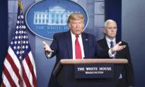 Tổng thống Trump nghi ngờ dữ liệu chính thức về virus của Trung Quốc