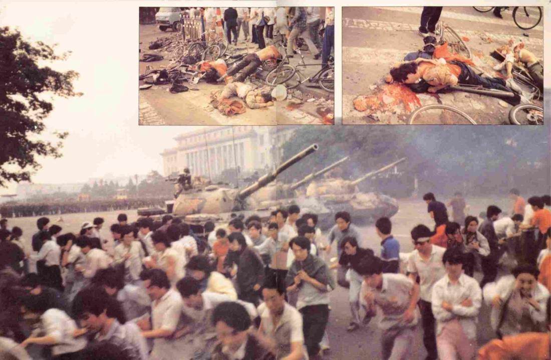 ĐCSTQ đàn áp người dân, đàn áp sinh viên năm 89