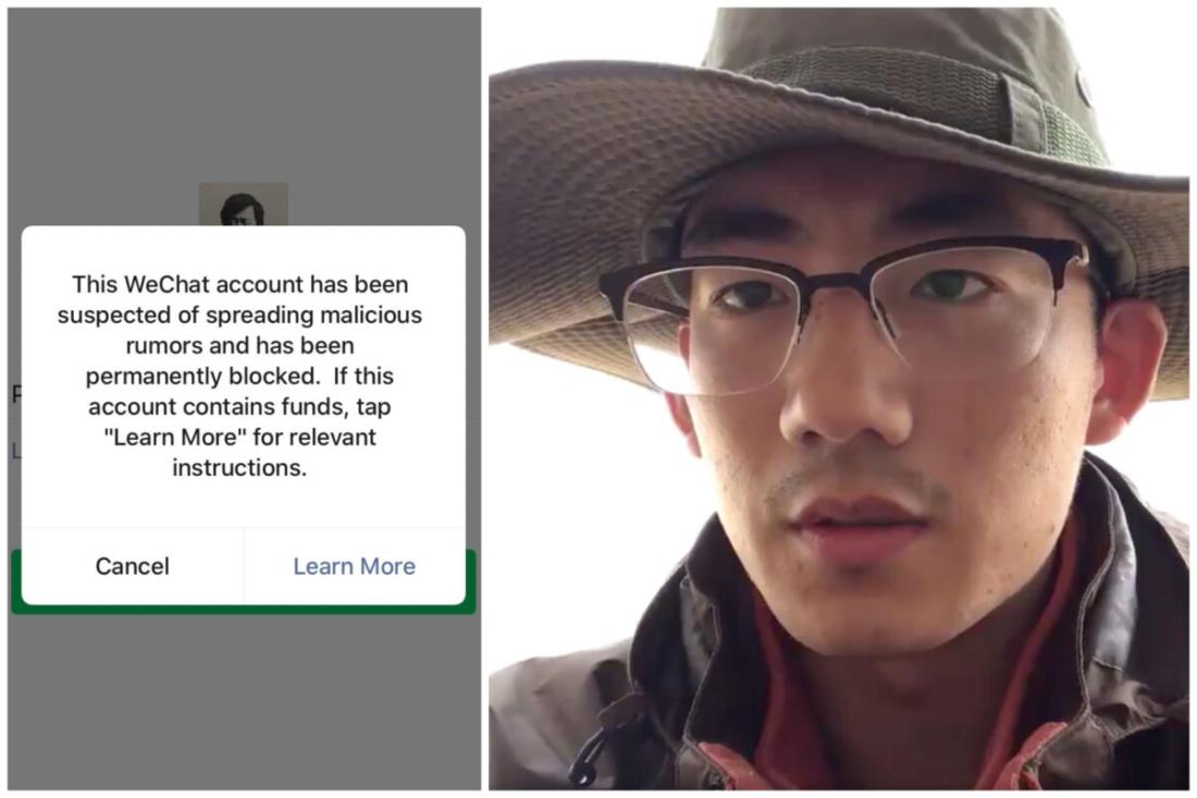 Một sinh viên Trung Quốc dũng cảm đứng lên phản đối chế độ, và sau đó bị mất tích