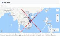 Trường Sa, Hoàng Sa bị xóa khỏi bản đồ Việt Nam trên Facebook
