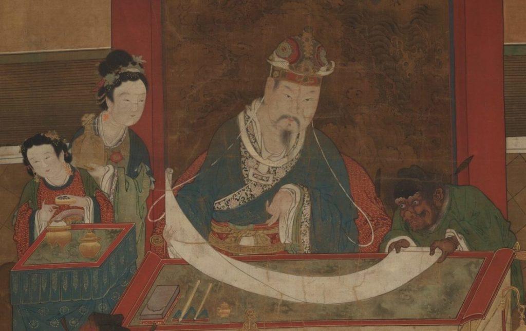 Khi Lê Chú làm phán quan ở cõi âm từng phải xét xử những vụ án liên quan đến thiện ác của những người chết trong vòng 10 tháng ở 5 tỉnh thuộc vùng Hoa Bắc. (Ảnh: Miền công cộng)