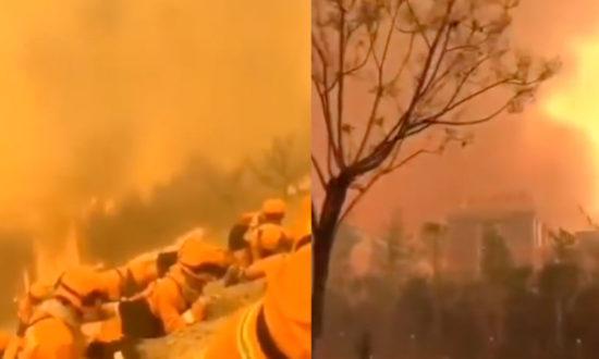 Cháy rừng ở núi Lương Sơn-Tứ Xuyên, gần 20 lính cứu hỏa tử vong