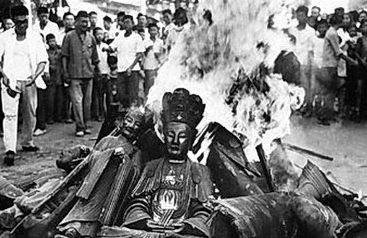 mao trạch đông phá tượng, đàn áp thời cách mạng văn hoá