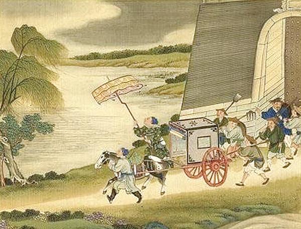 Mấy ngày sau, người này lại xuất hiện trong mộng của Lê Chú, đồng thời còn đem theo xe ngựa đón anh đến địa phủ, mời anh thăng đường thẩm vấn phạm nhân. (Ảnh: Miền công cộng)