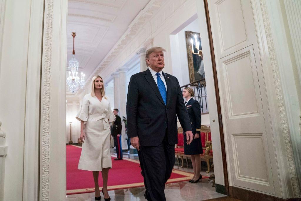 Tổng thống Trump luôn là người ủng hộ các quyết định của vợ trong việc giáo dục con cái.