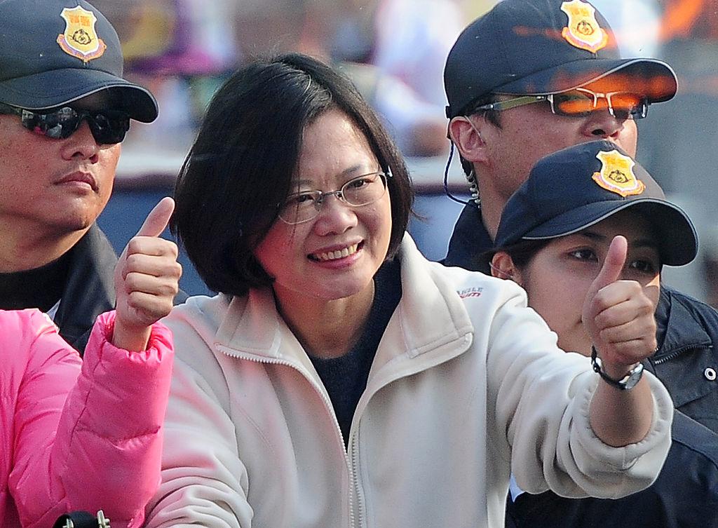 Tổng thống Thái Anh Văn - một người phụ nữ giản dị nhưng đầy khí phách, có thể khiến các nguyên thủ quốc gia các nước lớn phải... nghiêng mình kính nể.(Ảnh: Getty)