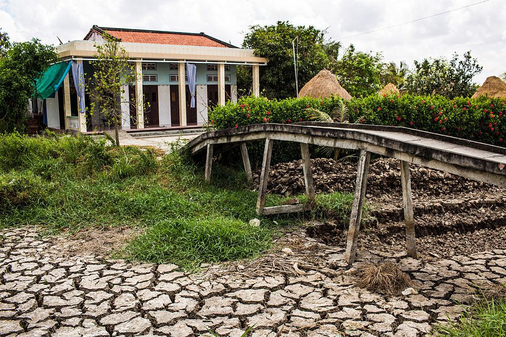 Mỹ cáo buộc Trung Quốc kiểm soát nguồn nước sông Mekong, gây ra tình trạng hạn hán nghiêm trọng, đe dọa an ninh lương thực và cuộc sống của hơn 60 triệu người. (Ảnh: Getty)