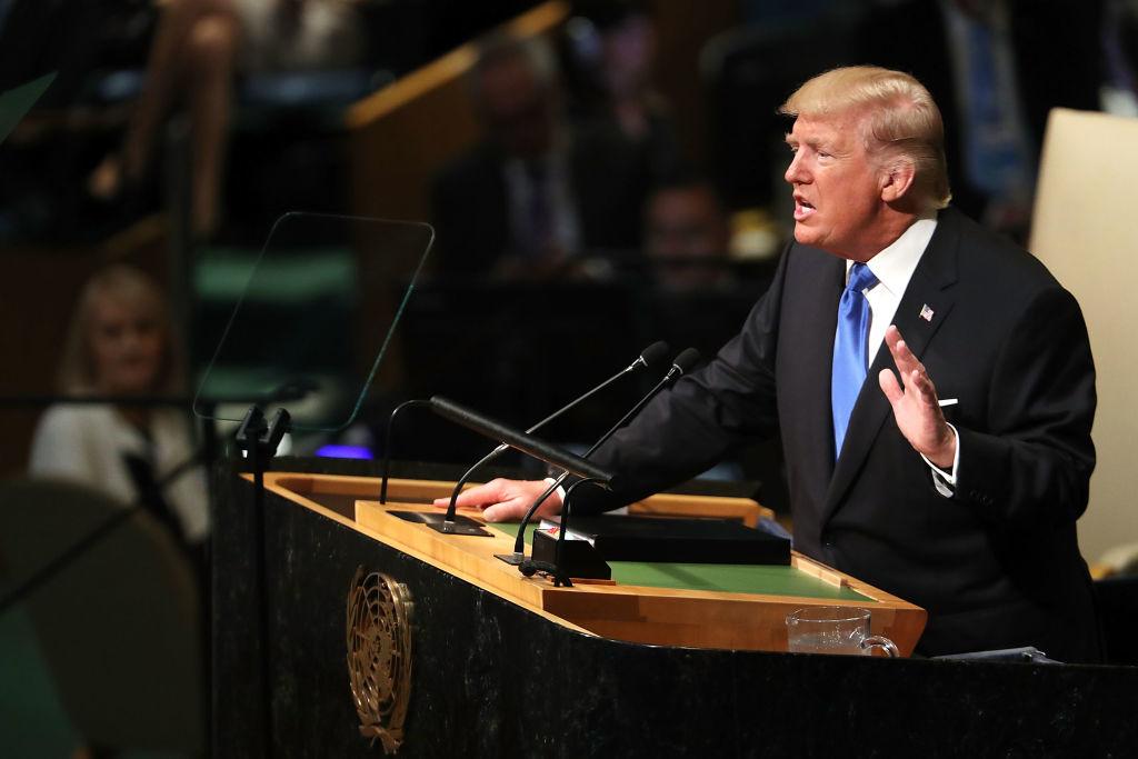 tổng thống trump bác bỏ toàn cầu hoá