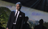 Andrea Bocelli xướng lên khúc ca kinh điển, gửi thông điệp hy vọng tới toàn cầu