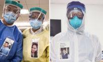 PPE 'nụ cười': Ý tưởng độc đáo xua tan nỗi lo cho bệnh nhân viêm phổi Vũ Hán
