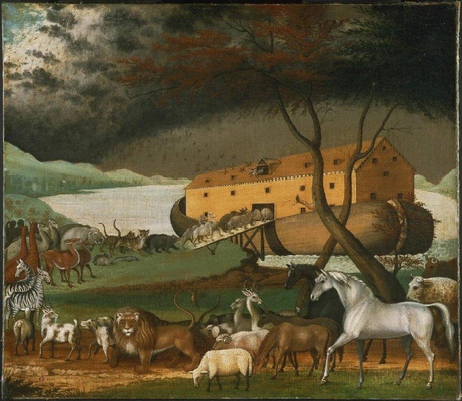 Noah hiểu đó chính là Thần tích mà Thiên Chúa đã triển hiện