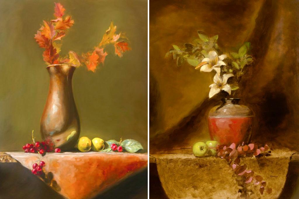 Họa sĩ George Ceffalio: Vẽ tranh bằng kỹ pháp cổ điển mang đến điều tốt lành