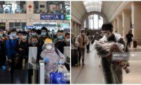Cảnh người từ Vũ Hán tỏa đi các nơi sau khi thành phố gỡ phong tỏa