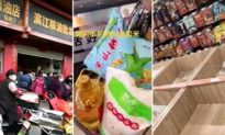 Lộ tin chính quyền Trung Quốc mật lệnh trữ lương thực cho 3-6 tháng, nhiều nơi người dân ồ ạt tích gạo (video)