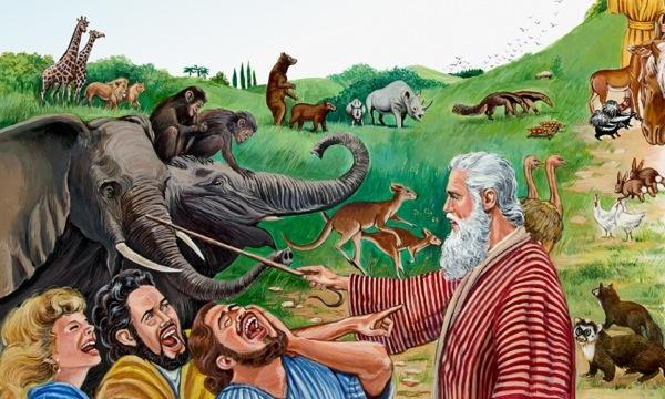 Noah bị cười nhạo báng, đại hồng thuỷ