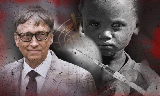 """Nỗi ám ảnh của Bill Gates đối với vaccine dường như được thúc đẩy bởi một niềm tin mãnh liệt rằng, ông được phong chức để thống trị thế giới bằng công nghệ, rồi đi """"cứu rỗi"""" và tiến đến kiểm soát thế giới bằng vaccine.(Ảnh: NTD Việt Nam tổng hợp)"""
