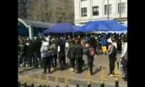 Video hàng ngàn người xếp hàng chờ khám tại khoa cấp cứu ở Cáp Nhĩ Tân, Trung Quốc
