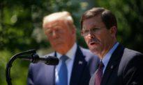 Bộ trưởng Quốc Phòng Esper: Hoa Kỳ đang theo dõi Trung Quốc 'rất chặt chẽ'
