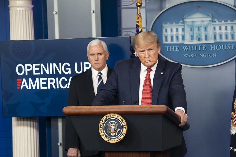 Tổng thống Trump: Trung Quốc phạm 'sai lầm kinh khủng' và cố che đậy về dịch bệnh