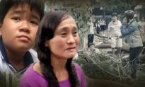 Rơi nước mắt lời cầu nguyện của các bạn và cô giáo cho cậu học sinh bị cây đè tử vong