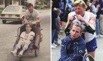Người cha vĩ đại nhất nước Mỹ - 38 năm kiên trì chạy marathon cùng con trai bại liệt