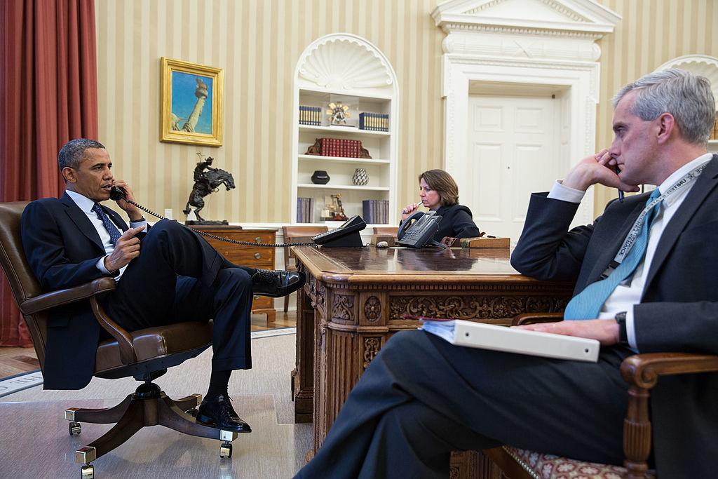 Obama đã lạm dụng quyền hành pháp vô lối không ngoài mục đích khẳng định quyền lực liên bang, cho phép nhánh hành pháp làm bất cứ điều gì ông muốn mà không đoái hoài đến cả hiến pháp. (Ảnh: Getty)