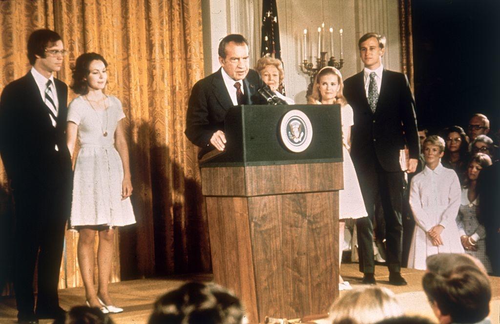 Cựu tổng thống Richard Nixon tin rằng nếu Donald Trump bước ra tranh cử, phần thắng thuộc về ông sẽ rất cao. (Ảnh: Getty)