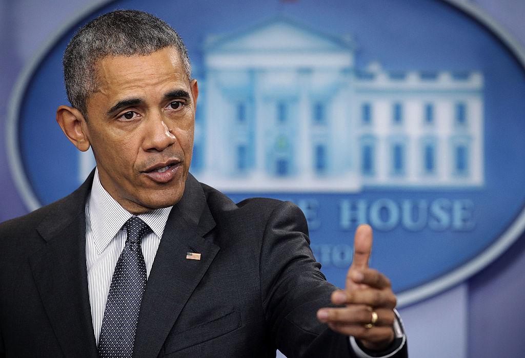 Tổng thống Obama là nhà hùng biện, nhưng lời nói ít đi đôi với việc làm. Obama chỉ phản đối miệng về Biển Đông và kêu gọi giải quyết tranh chấp Biển Đông dựa trên luật pháp quốc tế. (Ảnh: Getty)