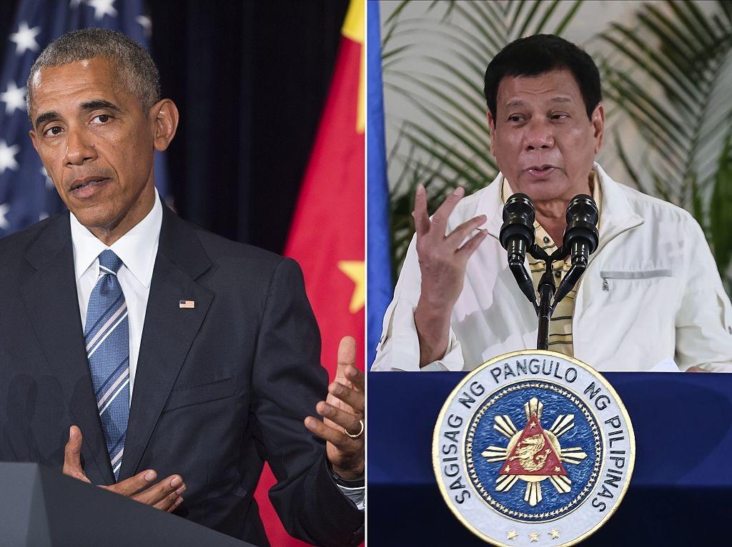 """Khi Rodrigo Duterte lên làm Tổng thống Philippines, ông ta đã lăng mạ Obama là là """"con trai của điếm"""", tiếp theo bồi thêm một cú tuyên bố """"ly khai"""" với Mỹ, bắt tay với Trung Quốc"""