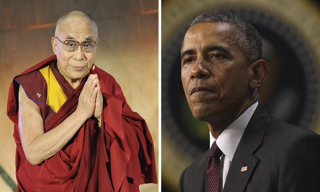 Vì sợ làm mất lòng Trung Quốc, tổng thống Obama đã né tránh không gặp đức Đạt Lai Lạt Ma.