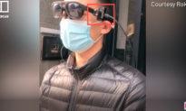 Trung Quốc giới thiệu kính mắt 'nhìn thấy' thân nhiệt giúp phát hiện nhanh người nhiễm COVID-19