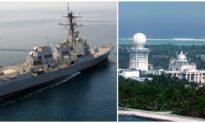 Tàu chiến Mỹ tiến sát Hoàng Sa, thách đố Trung Quốc