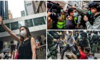 Ảnh: Hồng Kông bắt giữ 180 người biểu tình phản đối dự luật quốc ca