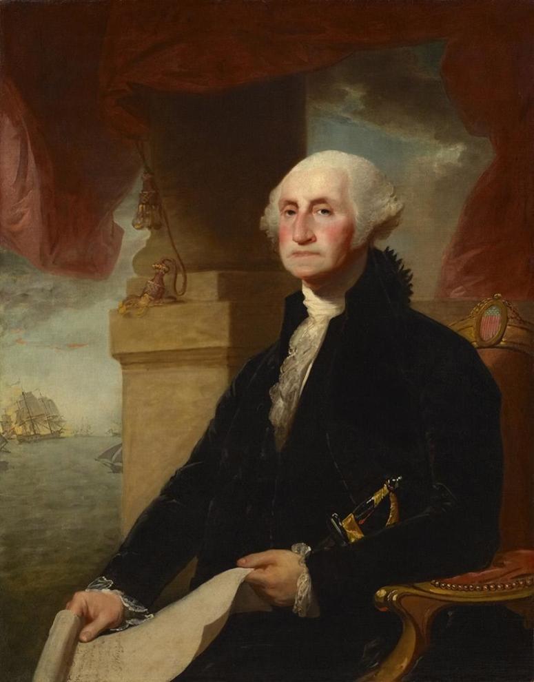 """Khi hết nhiệm kỳ, tổng thống Washington viết trong thư từ nhiệm gửi quốc dân như sau: """"Hai cột trụ lớn nhất cho sự hưng thịnh của quốc gia là tín ngưỡng và đạo đức""""."""